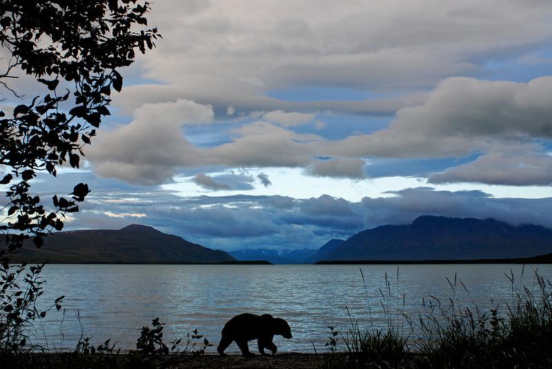 MGB-6732:Twilight at Naknek Lake
