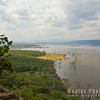 View of Lake Nakuru from Baboon Cliff
