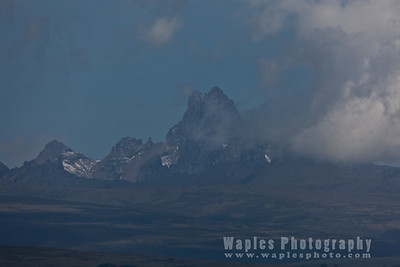 Many Peaks of Mount Kenya