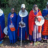 Maasai Women in Ceremonial Dress