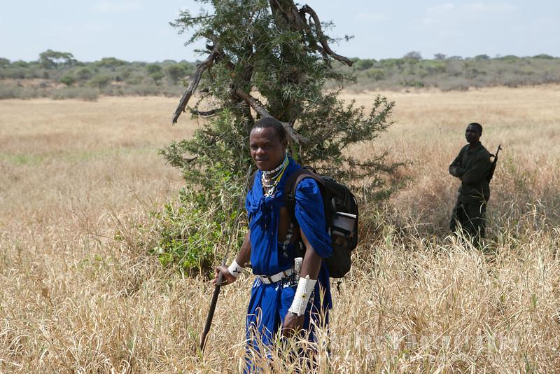 Kabushi, our Maasai Guide