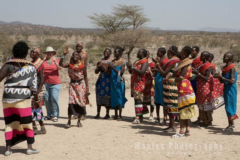 The Samburu, a Nilotic group