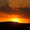 Crepuscular Rays, Maasai Mara