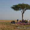 Champagne Breakfast on  the Maasai Mara