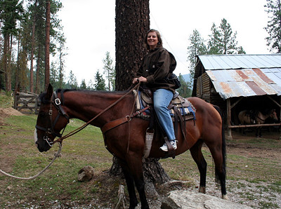 "Lorinda's Horse was named ""T""."