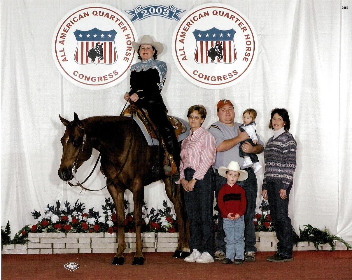 2003 Quarter Horse Congress- Horsemanship