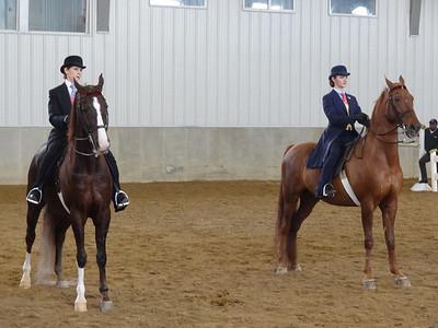 (left to right) Jodi and Amos, Savannah and Chipango