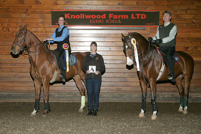 WTC Equitation Championship at the Knollwood Fall Show 2012. Nikki winning Grand Champion and me taking Reserve Champion.