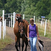 Kate and Radetzky<br /> Danish Warmblood<br /> Shire Stables 2005