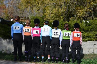 The Academy riding team.