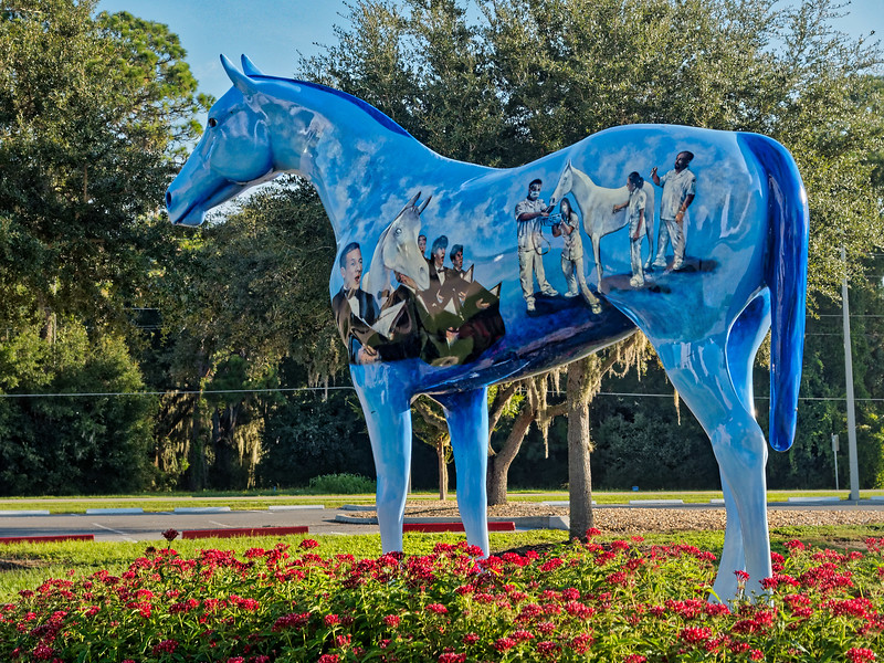 College of Central Florida's Patriot's Pride Statue