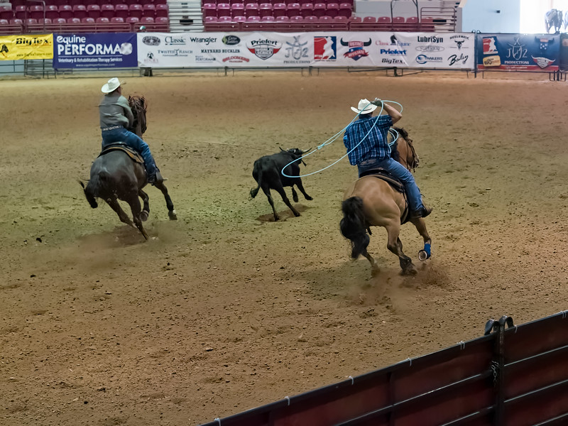 National Team Roping League Rope for the Truck event at Jacksonville Equestrian Center