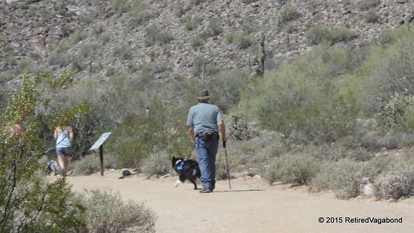 Hiking near Salt Creek River