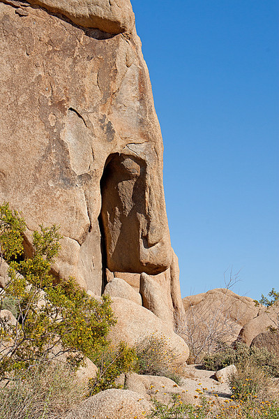 Rock formation near Split Rock, Joshua Tree National Monument
