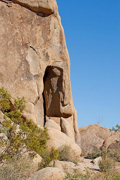 Rock formation near Split Rock, Joshua Tree National Monument