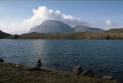 Great Gable from Sprinkling Tarn, The English Lake District