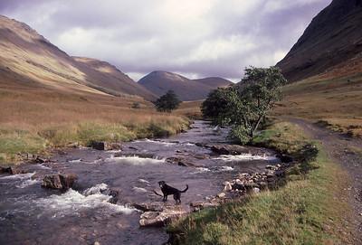 Glen Kinglass, north of Tyndrum, Scotland