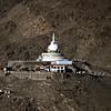 Shanti Stupa - from the Khardung La Road