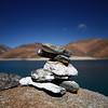 Prayer Stones - Pangong Tso