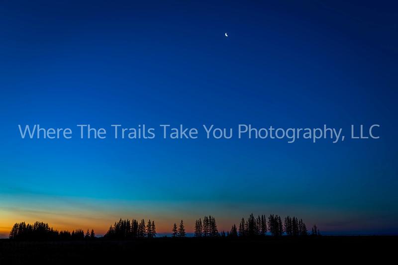Sunrise and Moonset 2