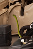 """The """"Twenty Step Snake"""" (Green Mamba) that dropped into the engine compt of our 4x4."""