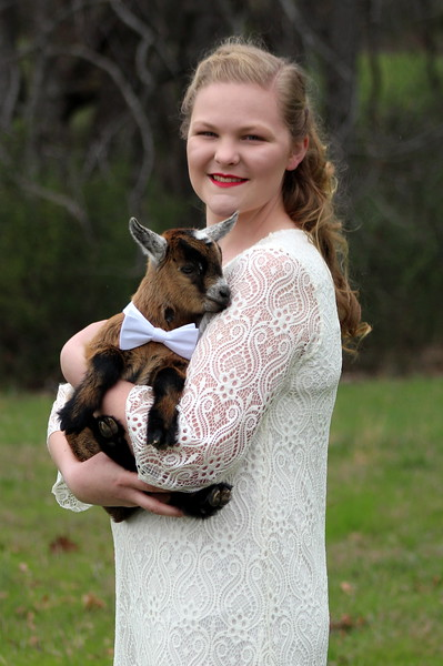 Leah and Her Goats March 11, 2017