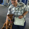 Graduation day from obedience class