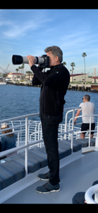 Photographing Grey Whales