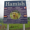 June 18, 2013.  Hamish the Highland Cow at Trossachs Woollen Mill store, Scotland.