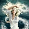 The salt goddess. La déesse du sel. Couverture du tome 2: Les chroniques de Braven Oc. Client: Les intouchables