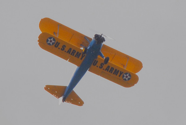 Memorial Day Hawk & Plane 2008