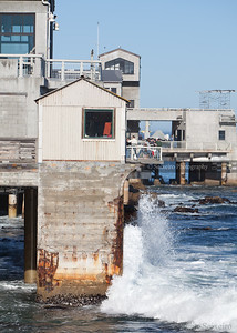 This was a big fishing area for sardines in the past - lots of docks and processing plants.