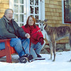 Our first week with Kozar  in 2003 - he looked a bit dubious.