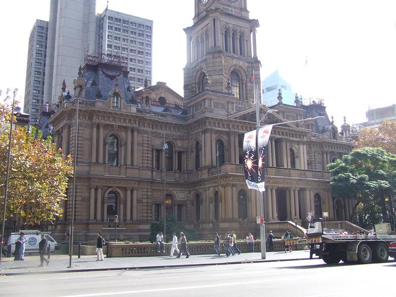 Sydney's town hall.