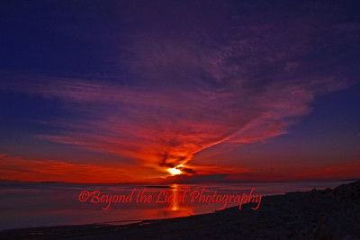 Antelope Island Utah Sunset