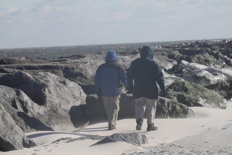 Tom and Arthur walking