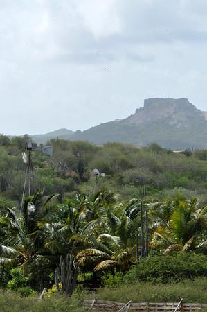 op bezoek Curacao