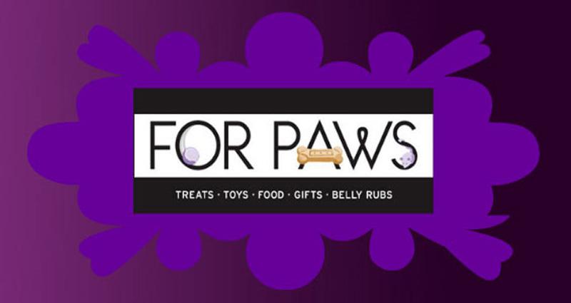 For Paws Logo
