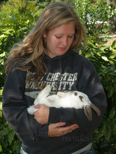 Trudy with Herbie  - 9/13/2010