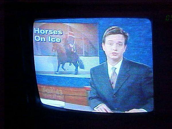 TV news clip.