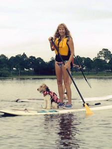 koi paddle board