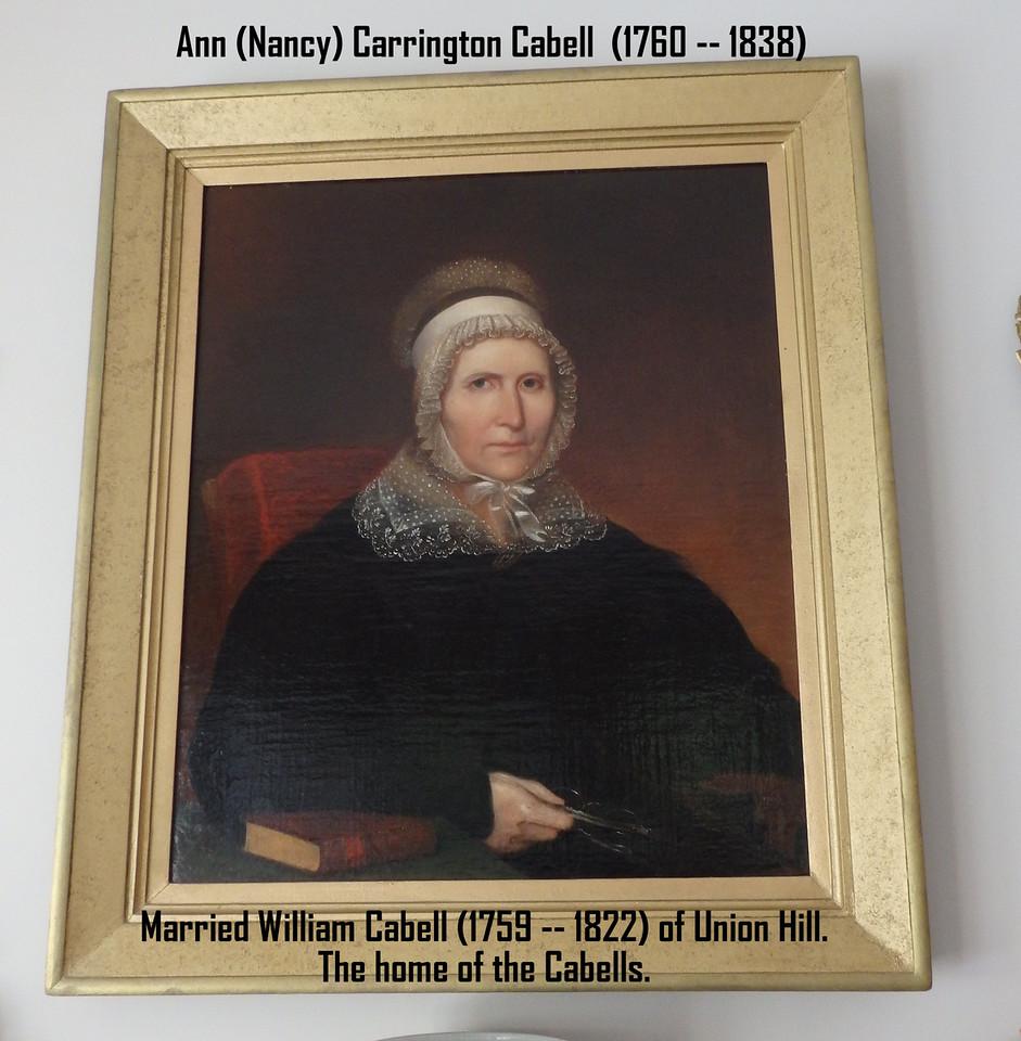 Ann (Nanny) Carrington Cabell