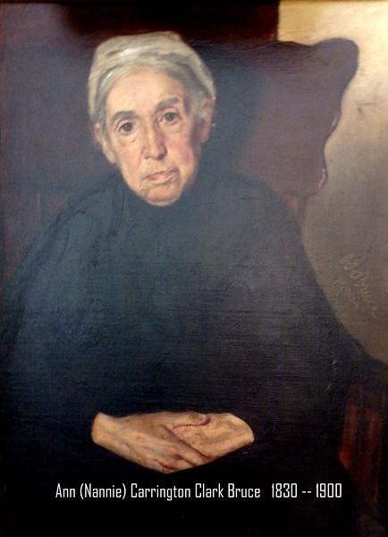 Ann (Nannie) Carrington Clark Bruce