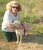 Susan with Tulip on Sept. 8, 2007 when we first met her.
