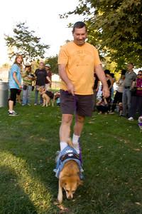 Rusty at Sepulved Basin Dog Park Howl-oween event, 2011