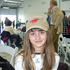 "Brooke sporting the freshly autographed ""Big Red"" Secretariat cap."