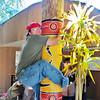 Uncle Bubba Koalaing in Edea's berret.