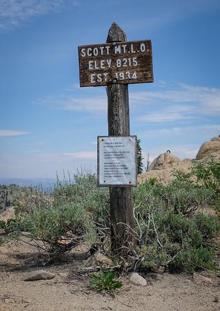 SIBA Scott Mt Lookout Field Trip