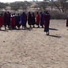 We had the privilege of visiting a Masai village. The Masai are a semi-nomadic people from N. Tanzania and Kenya numbering about 6 million. Very distinct form other African tribal groups. In this video, they welcome us.