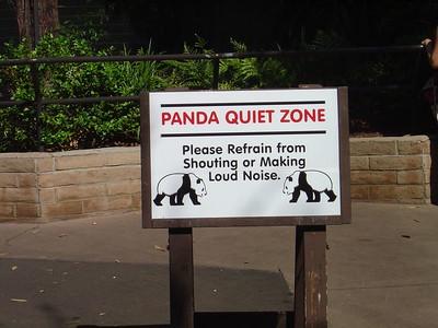 Panda quiet zone